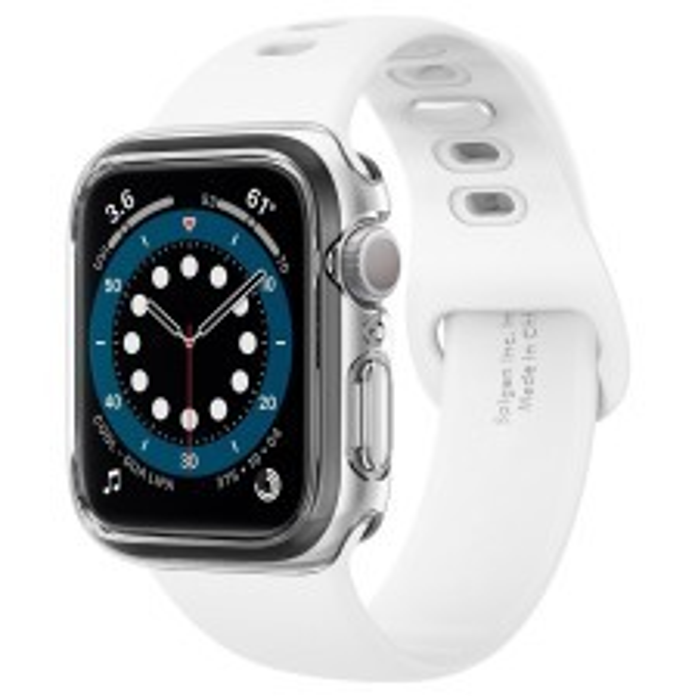 Гибридный чехол SPIGEN для Apple Watch 6 / 5 / 4 (40 мм) - Ultra Hybrid - Прозрачный - ACS00427