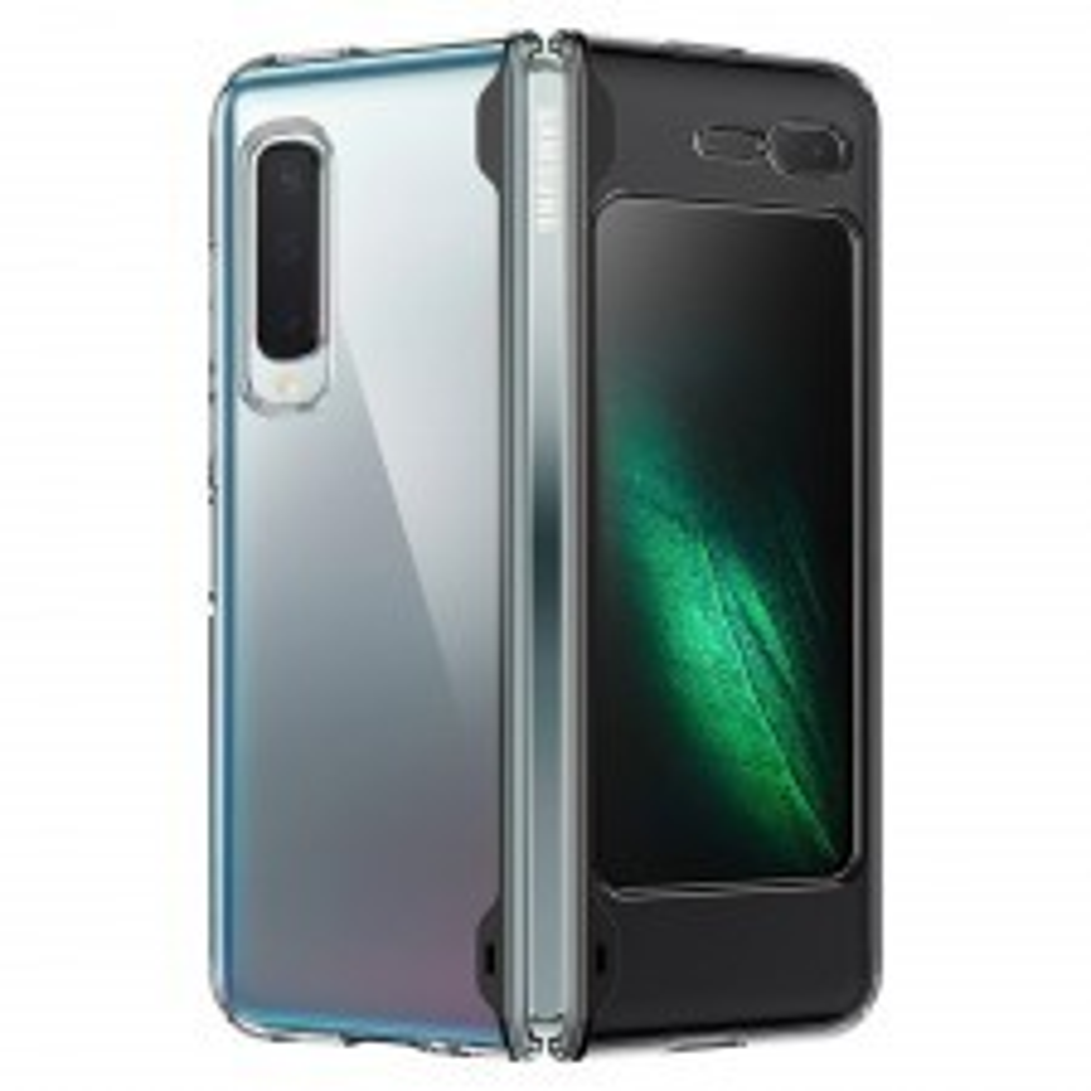 Гибридный чехол SPIGEN для Galaxy Fold - Ultra Hybrid - Кристально-прозрачный - 615CS26162
