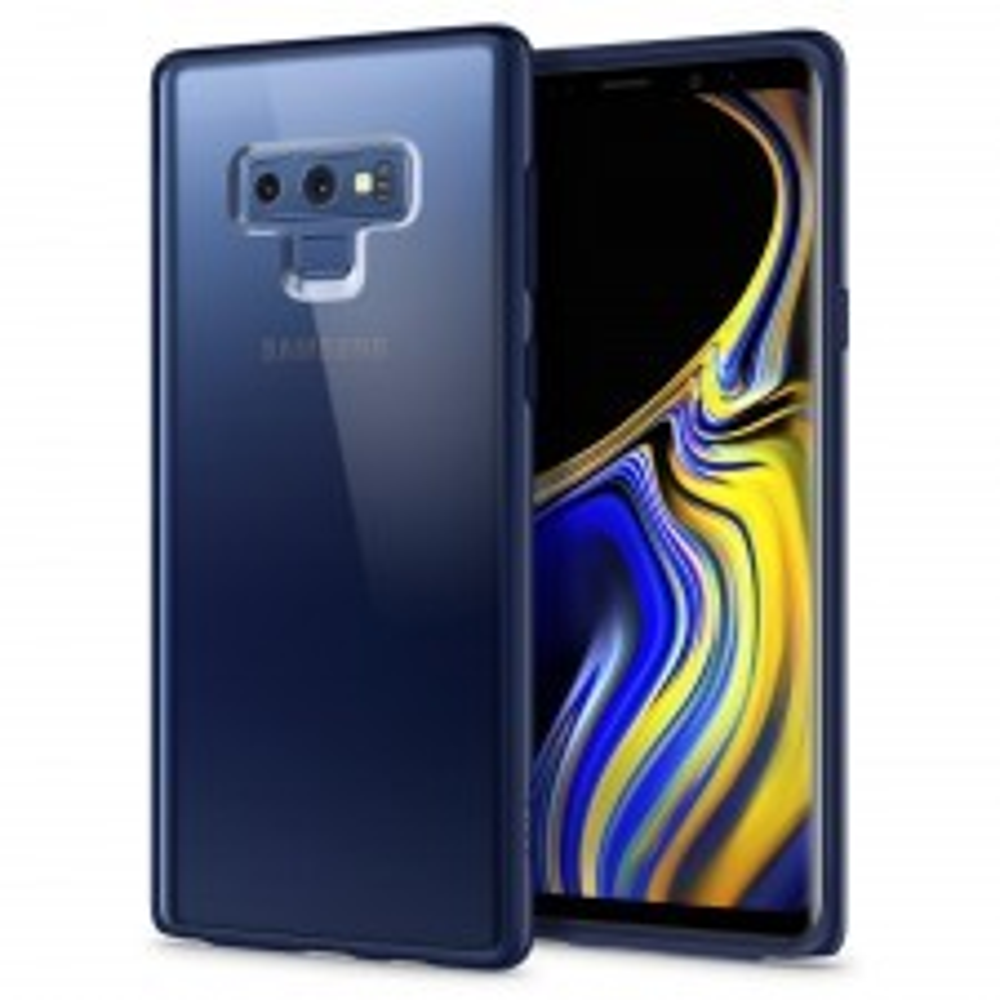 Гибридный чехол SPIGEN для Galaxy Note 9 - Ultra Hybrid - Синий - SGP-599CS25054