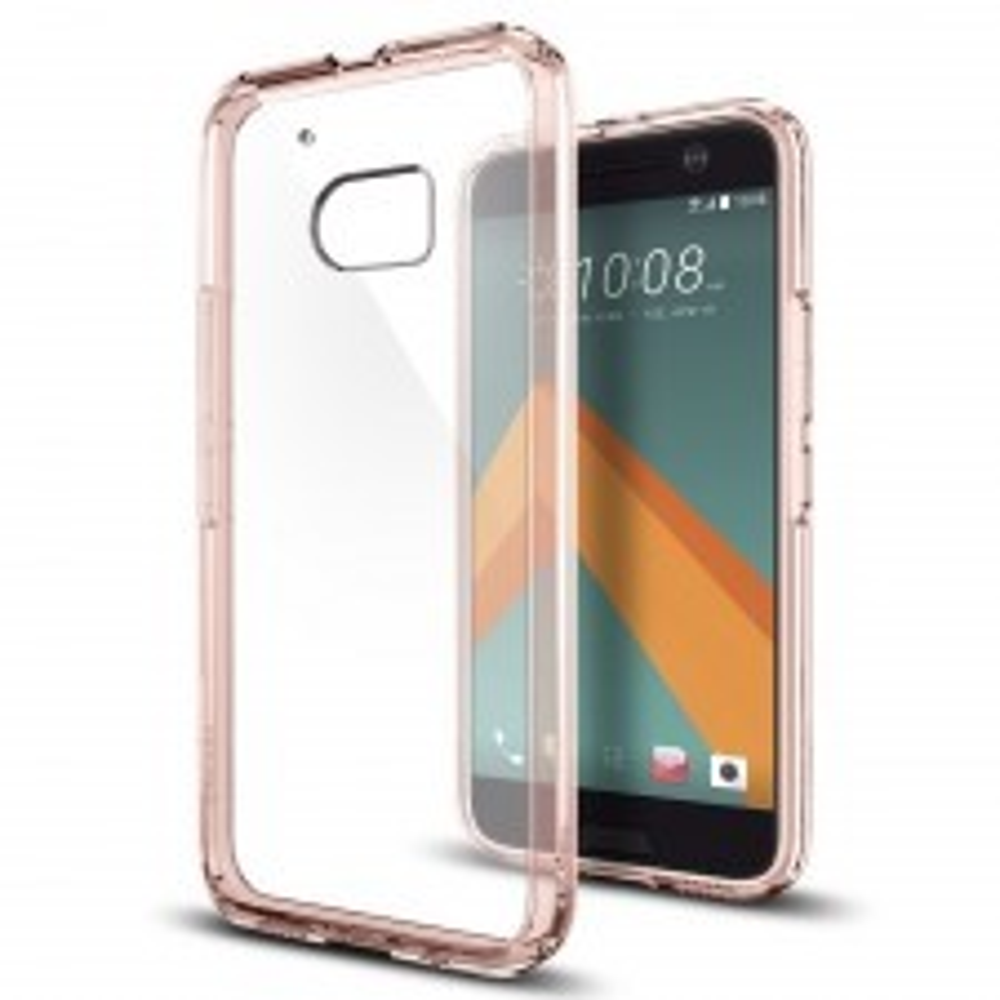 Гибридный чехол SPIGEN для HTC 10 - Ultra Hybrid - Розовый - SGP-H09CS20278