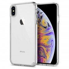 Гибридный чехол SPIGEN для iPhone XS Max - Ultra Hybrid - Кристально-прозрачный - SGP-065CS25127