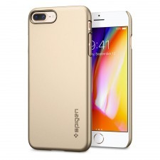 Клип-кейс SPIGEN для iPhone 7 Plus / 8 Plus - Thin Fit - Золотой - SGP-055CS22239