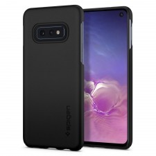 Клип-кейс SPIGEN для Galaxy S10e - Thin Fit - Черный - SGP-609CS25829