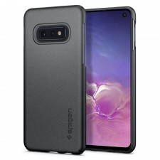 Клип-кейс SPIGEN для Galaxy S10e - Thin Fit - Серый Графит - SGP-609CS25830