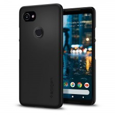 Клип-кейс SPIGEN для Google Pixel 2 XL - Thin Fit - Черный - SGP-F17CS22285