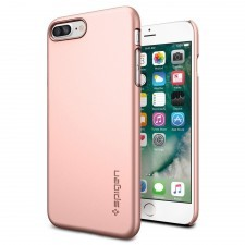 Клип-кейс SPIGEN для iPhone 7 Plus / 8 Plus - Thin Fit - Розовое Золото - SGP-043CS20474
