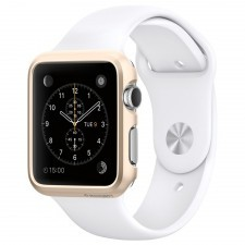 Клип-кейс SPIGEN для Apple Watch (38мм) - Thin Fit - Золотой - SGP11490