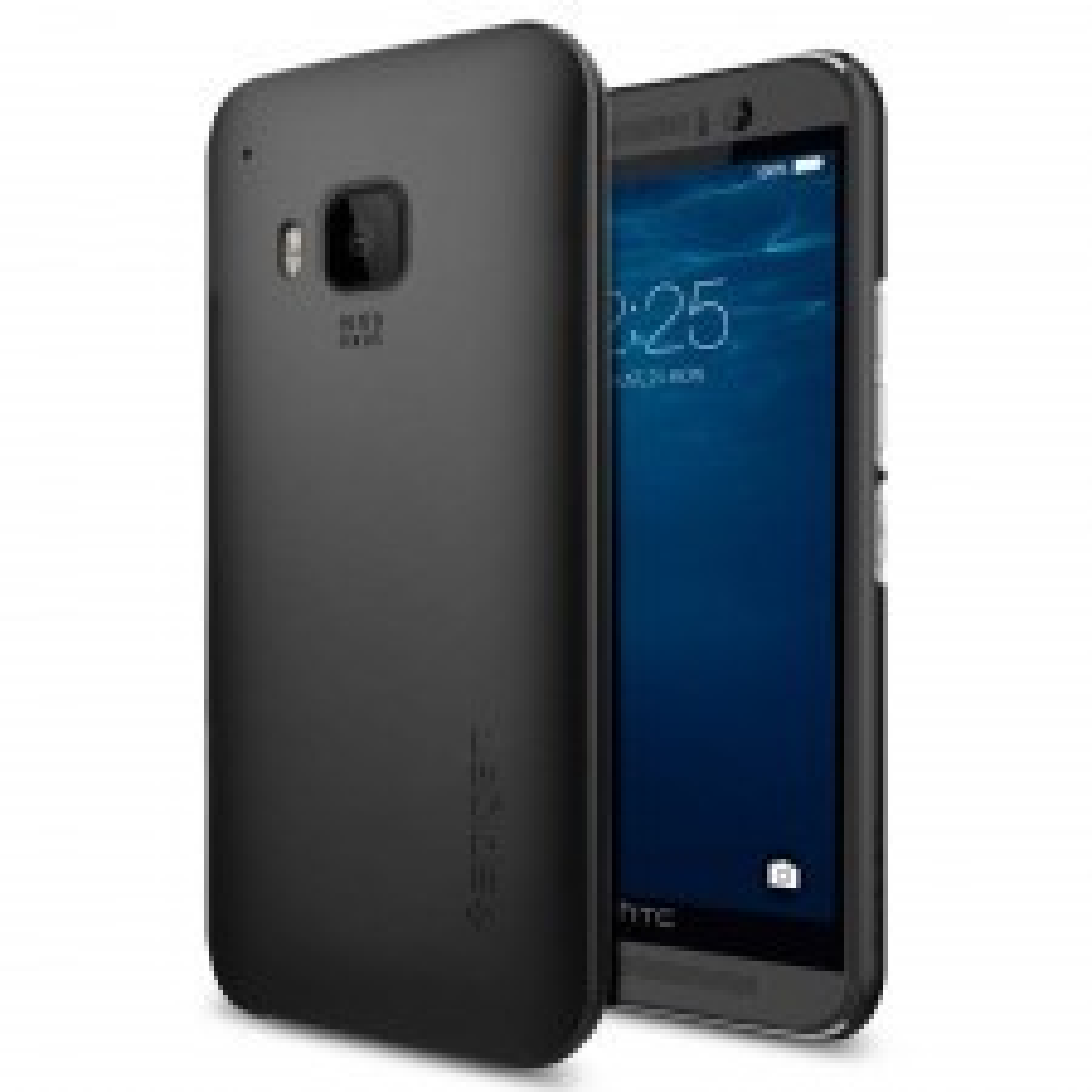 Клип-кейс SPIGEN для HTC One M9 - Thin Fit - Черный - SGP11450