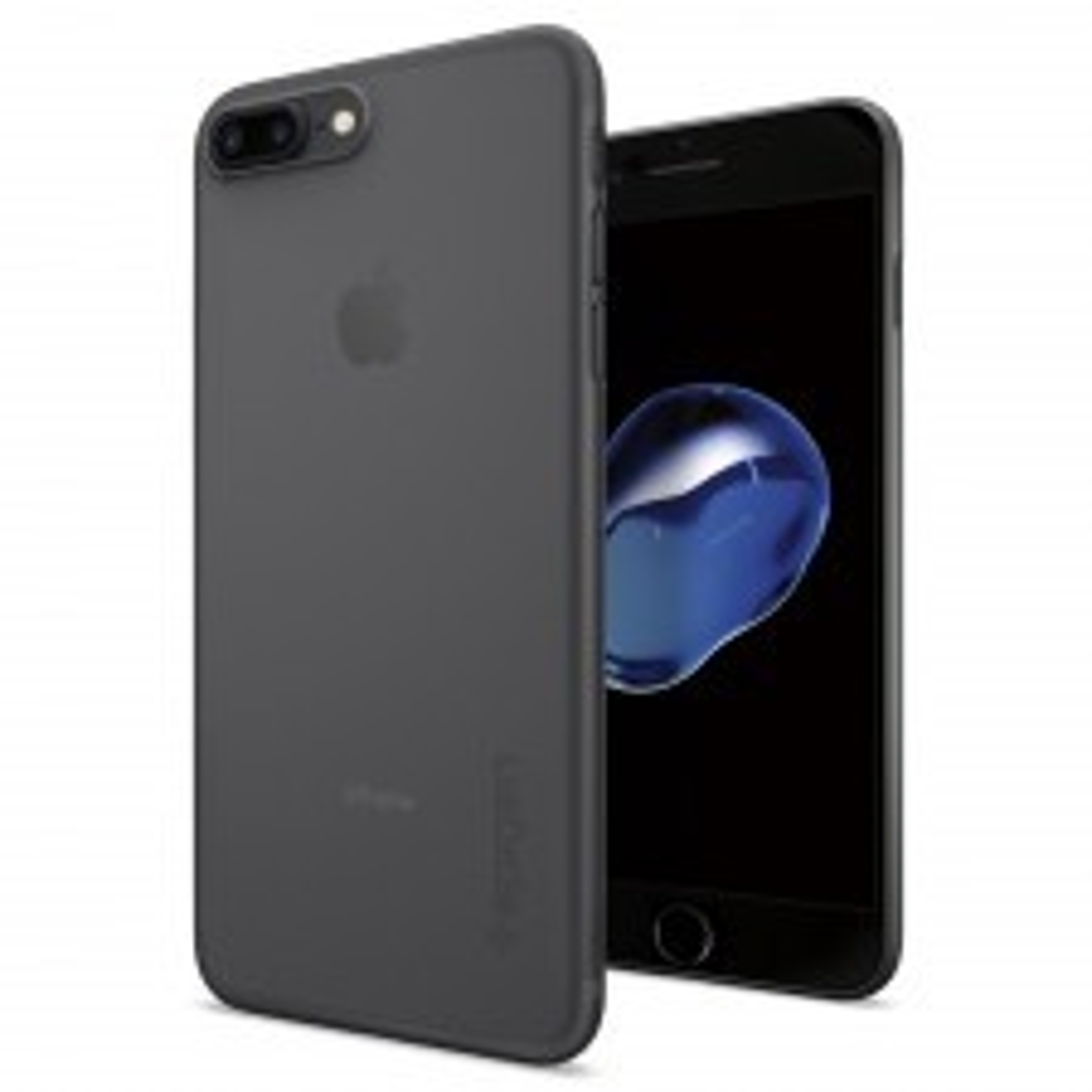 Оригинальный чехол SPIGEN для iPhone 7 Plus / 8 Plus - AirSkin - Черный - SGP-043CS20870