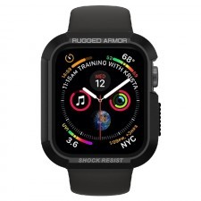 Прочный чехол SPIGEN для Apple Watch 5 / 4 (40мм) - Rugged Armor - Черный - 061CS24480