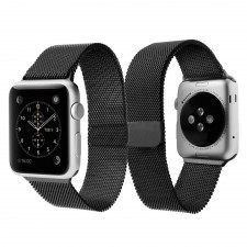 Ремешок SPIGEN для Apple Watch 1 / 2 (42мм) - Milanese Band A300 - Серый - SGP-032WB20343
