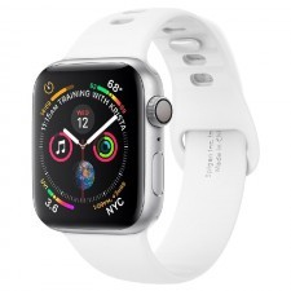 Ремешок SPIGEN для Apple Watch 5 / 4 (44мм) - Watch Band Air Fit - Белый - 062MP25402