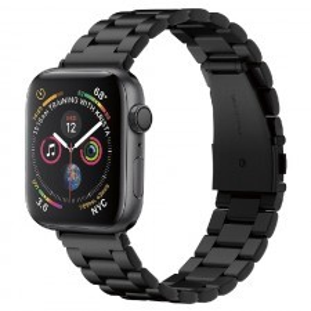 Ремешок SPIGEN для Apple Watch 5 / 4 (44мм) - Watch Band Modern Fit - Черный - 062MP25403