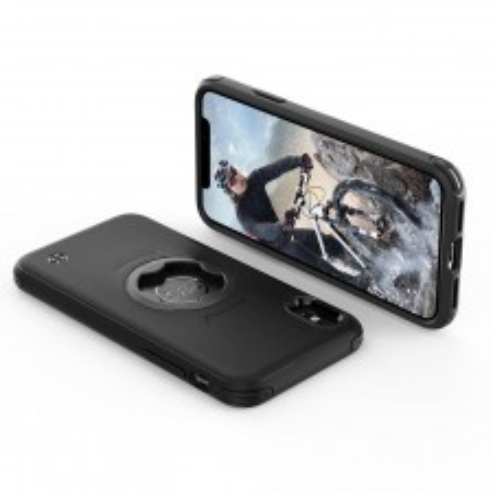 Спортивный чехол SPIGEN для iPhone X / XS - Bike Mount Gearlock - Черный - 057CS25058