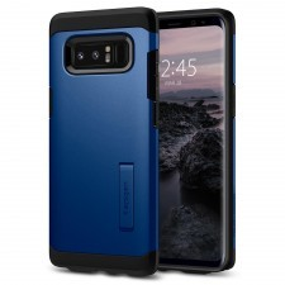 Ударопрочный чехол SPIGEN для Galaxy Note 8 - Tough Armor - Синее море - SGP-587CS22083