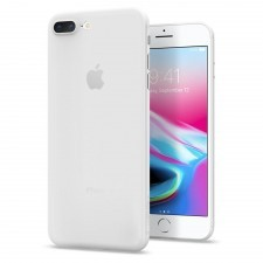 Ультра-тонкий чехол SPIGEN для iPhone 8 Plus / 7 Plus - Air Skin - Прозрачный - SGP-055CS22593