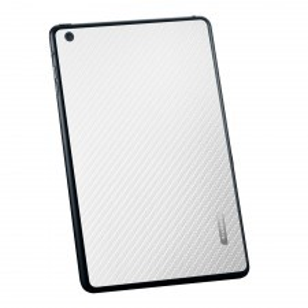 Защитная наклейка SPIGEN для Apple iPad Mini / Mini Retina - Белый карбон - SGP10067