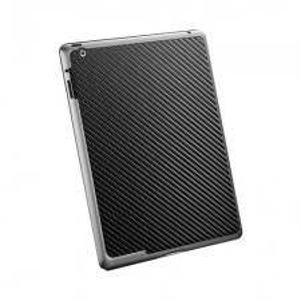 Защитная наклейка SPIGEN для iPad 2 / 3 / 4 - Skin Guard - Черный карбон - SGP08858