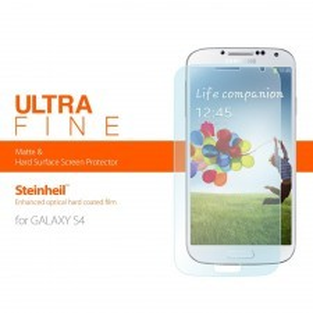 Защитная пленка SPIGEN для Galaxy S4 - Steinheil - Ultra Fine - SGP10191