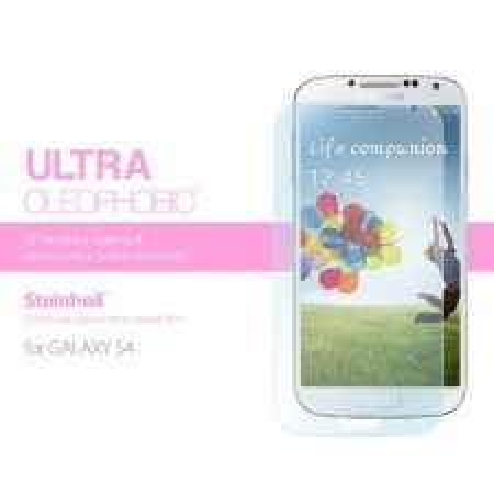 Защитная пленка SPIGEN для Galaxy S4 - Steinheil - Ultra Oleopobic - SGP10197