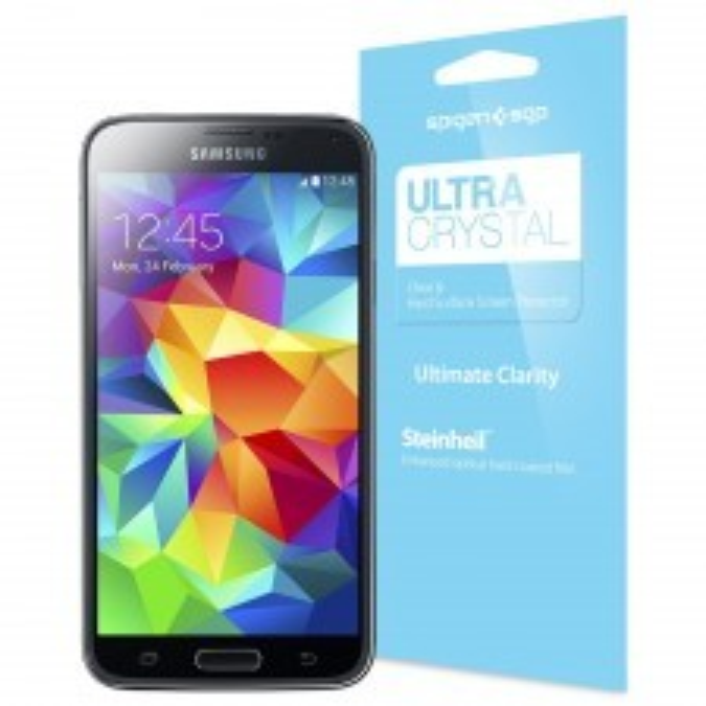 Защитная пленка SPIGEN для Galaxy S5 - Steinheil - Ultra Crystal - SGP10723