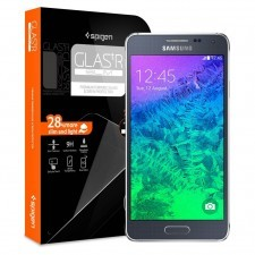 Защитное стекло SPIGEN для Samsung Galaxy Alpha - GLAS.tR SLIM - SGP11092