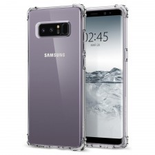 Защитный чехол SPIGEN для Galaxy Note 8 - Crystal Shell - Кристально-прозрачный - SGP-587CS21839