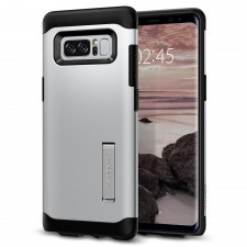 Защитный чехол SPIGEN для Galaxy Note 8 - Slim Armor - Серебристый - SGP-587CS21838