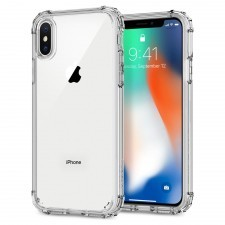 Защитный чехол SPIGEN для iPhone X / XS - Crystal Shell - Кристально-прозрачный - SGP-057CS22141