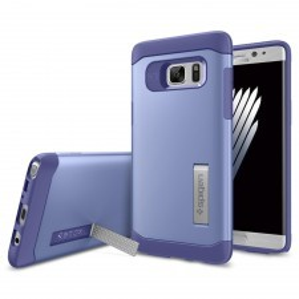 Защитный чехол SPIGEN для Galaxy Note 7 - Slim Armor - Фиолетовый - SGP-562CS20382