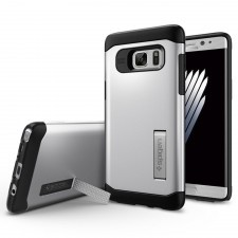 Защитный чехол SPIGEN для Galaxy Note 7 - Slim Armor - Серебристый - SGP-562CS20379