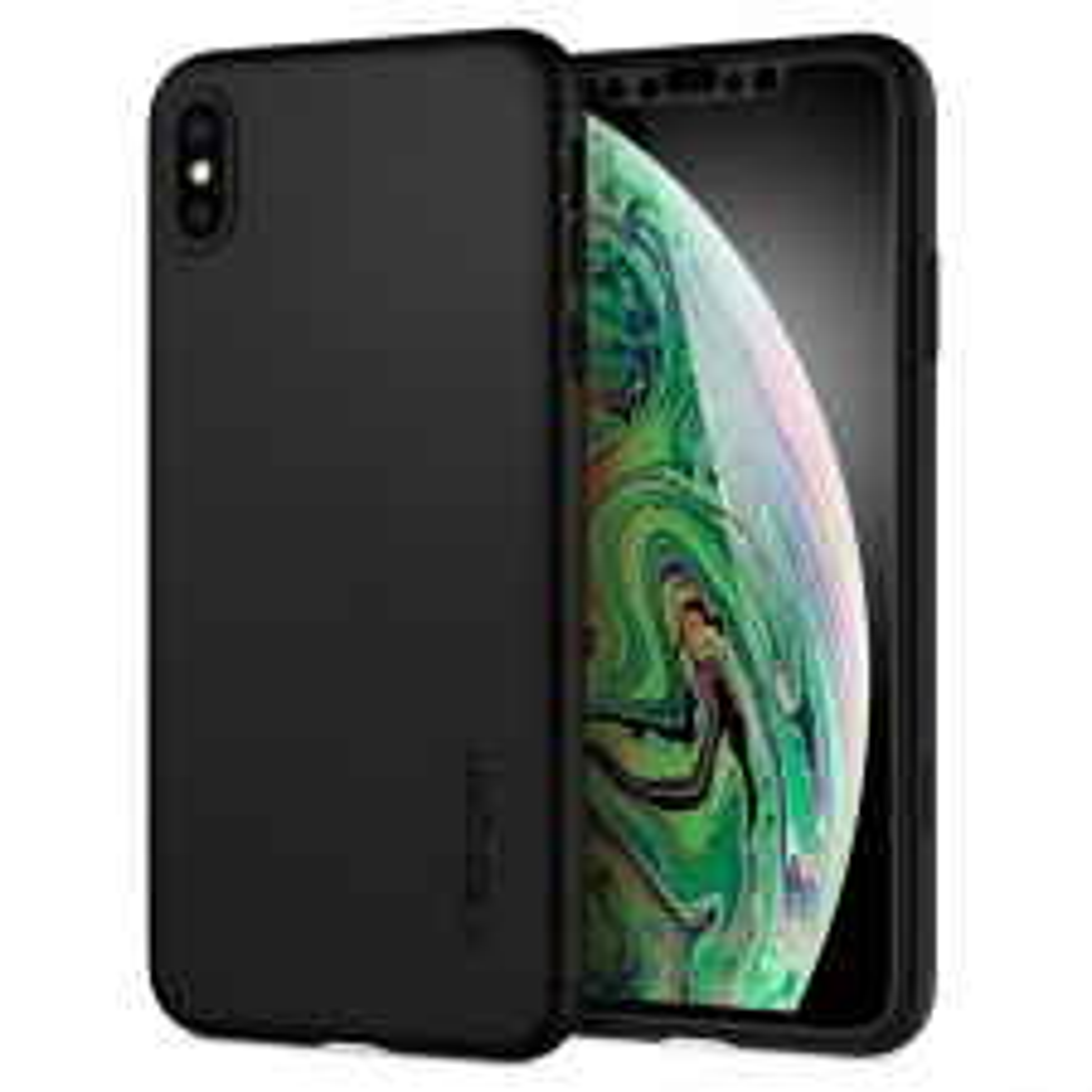 Защитный чехол SPIGEN для iPhone XS Max - Thin Fit 360 - Черный - SGP-065CS24846