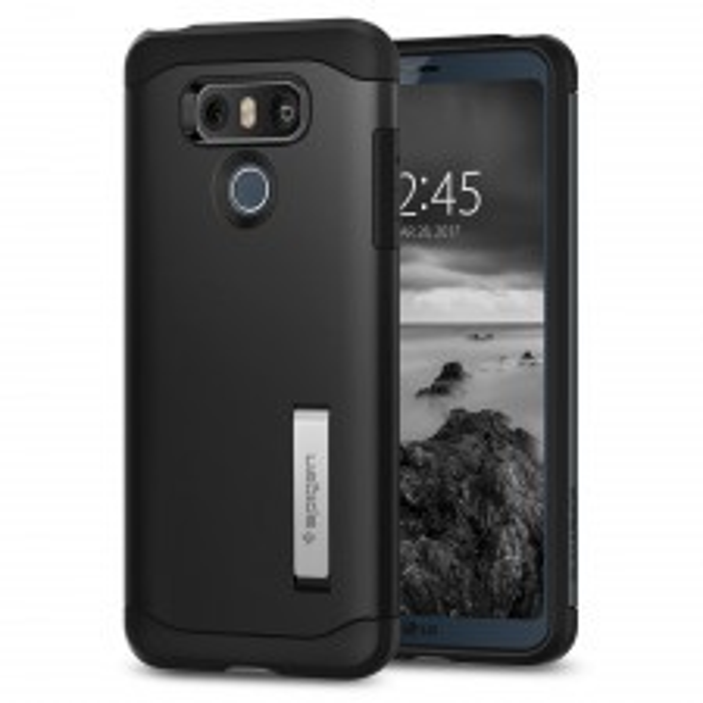 Защитный чехол SPIGEN для LG G6 - Slim Armor - Черный - SGP-A21CS21239