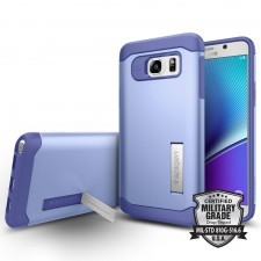 Защитный чехол SPIGEN для Galaxy Note 5 - Slim Armor - Фиолетовый - SGP11688