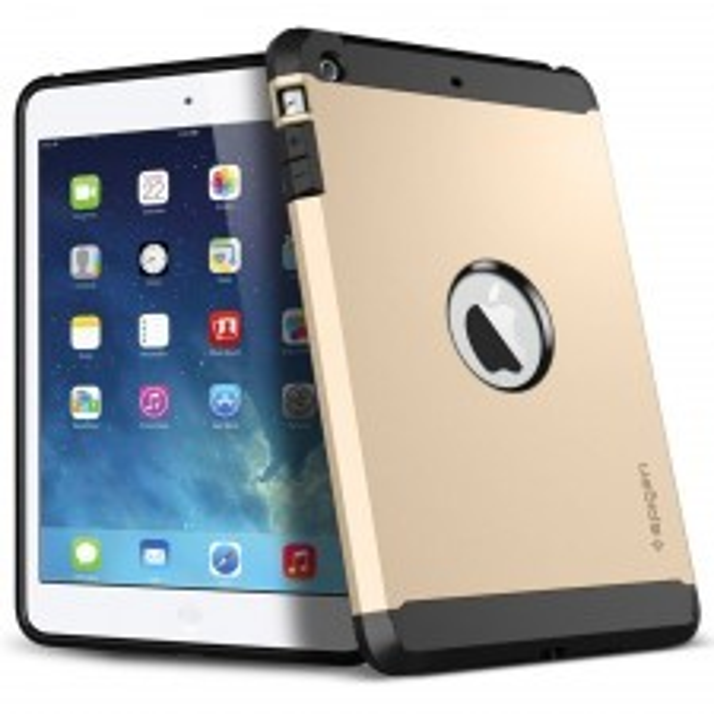 Защитный чехол SPIGEN для iPad Mini Retina 2 / 3 - Tough Armor - Золотистый - SGP10626