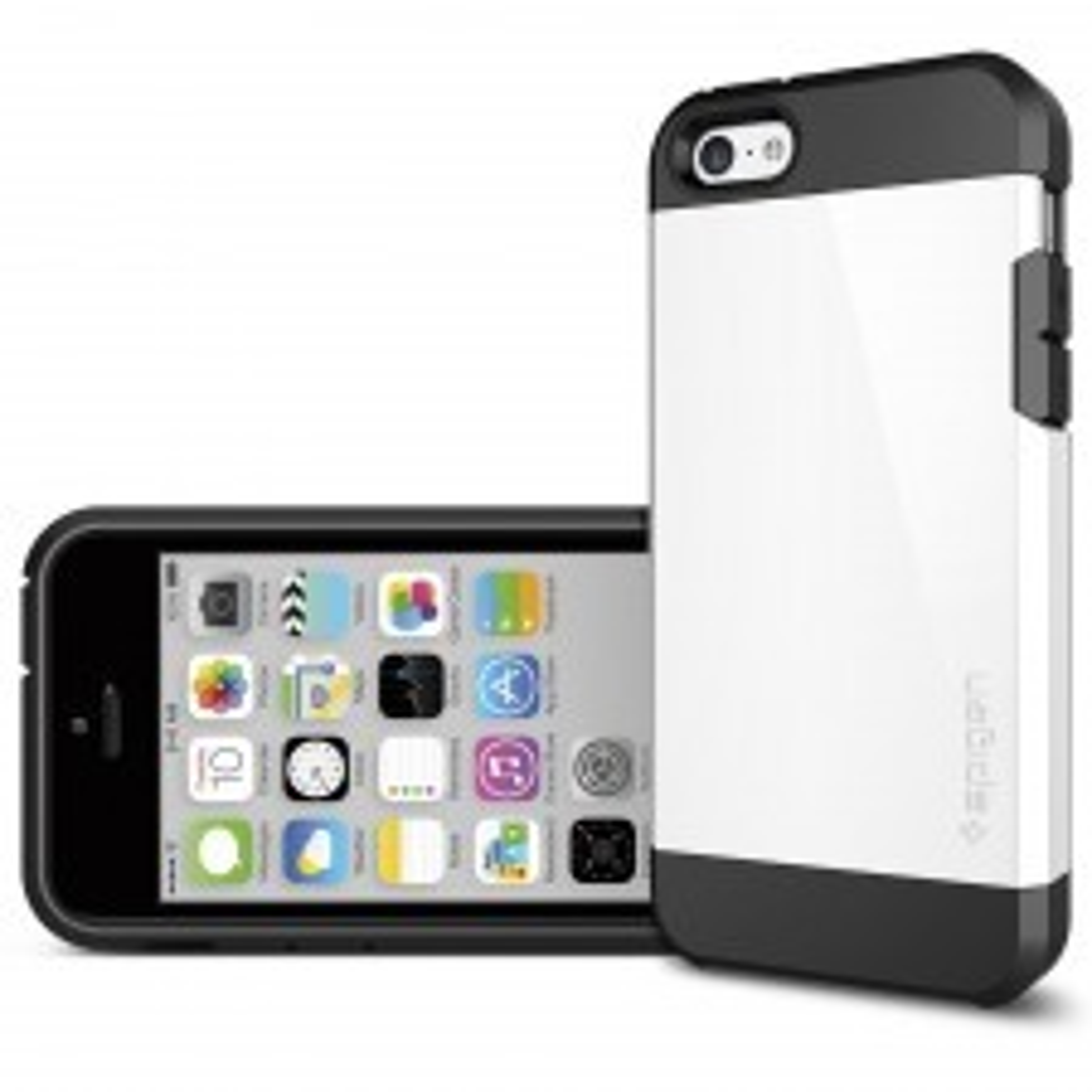 Защитный чехол SPIGEN для iPhone 5c - Tough Armor- Белый - SGP10544